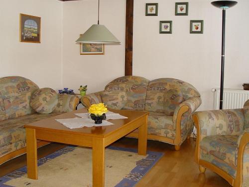 Lounge oder Bar in der Unterkunft Holiday Home Altes Land.2