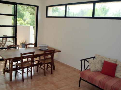 A seating area at Holiday Home Villa Isabelle