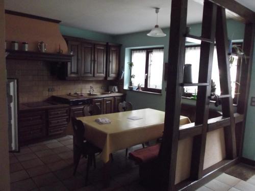 A kitchen or kitchenette at Gite Alize