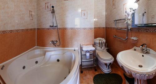 Ванная комната в Отель Невский