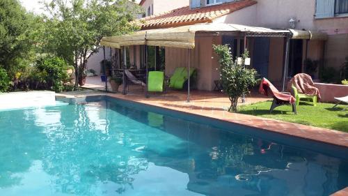 The swimming pool at or close to La Chambre De Salome