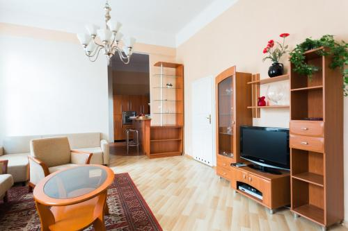 Лаундж или бар в Apartament St. Markus Cracow