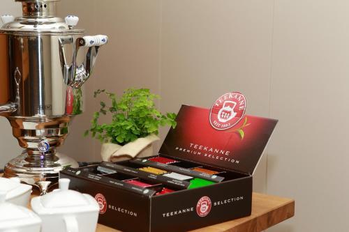 Kaffee-/Teezubehör in der Unterkunft Saterländer Hof