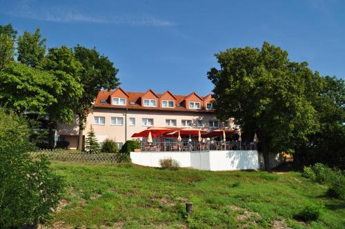 Ein Garten an der Unterkunft Hotel-Restaurant Weinberg