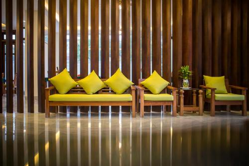 The lobby or reception area at Hoi An Green Apple Hotel