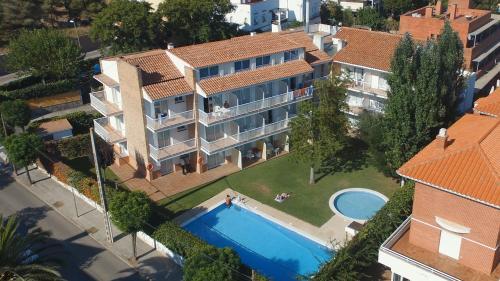 A bird's-eye view of Apartamentos Sunway San Jorge
