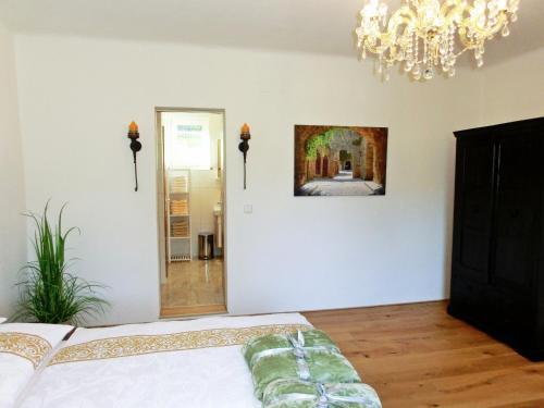 Ein Zimmer in der Unterkunft Ferienhaus Sonnenhorst