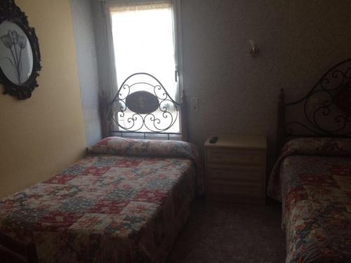 Una habitación en Hostal Monica