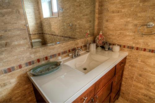 Uma casa de banho em Vivenda do Barreiro