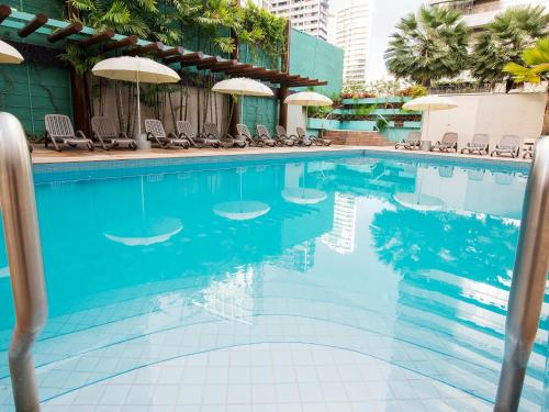 The swimming pool at or close to Ponta Mar Hotel