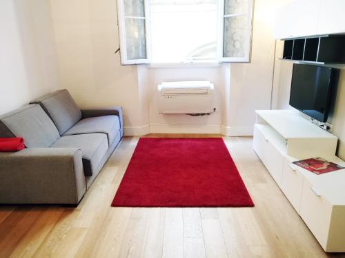 Zona de estar de Amadeus Luxurious Suite