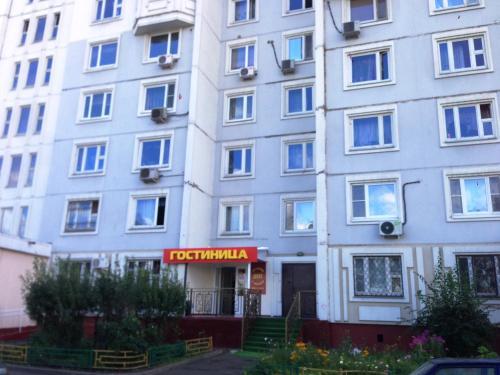 The facade or entrance of Hotel Duet v Lyublino
