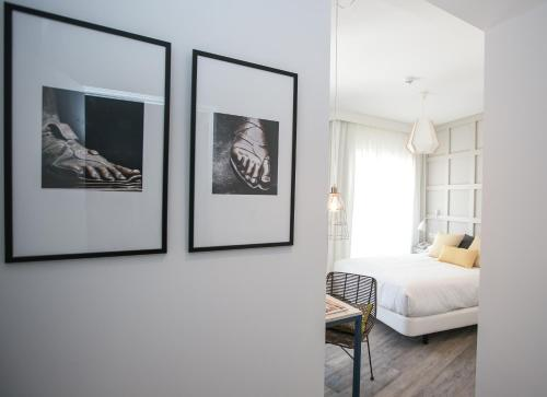 Een kamer bij Hotel Boutique Teatro Romano