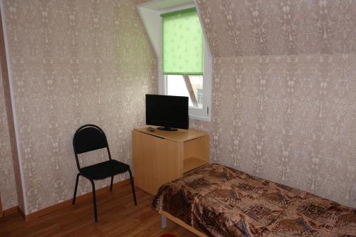 Телевизор и/или развлекательный центр в Отель «Ельчик»