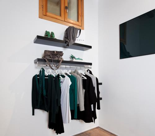 A television and/or entertainment center at Centric Gracia Apartments