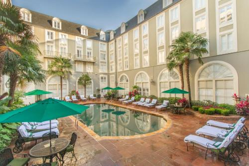 The swimming pool at or near Bourbon Orleans Hotel