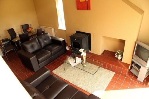 The lounge or bar area at Cottage 504 - Carraroe