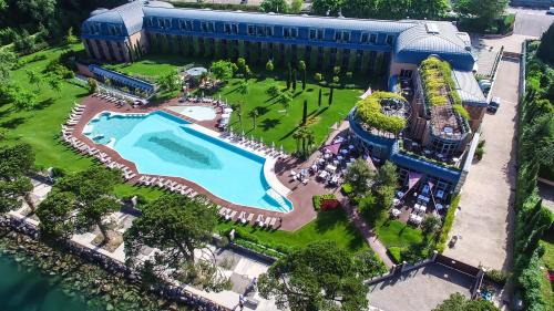 A bird's-eye view of Hotel Corte Valier