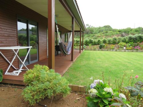 A porch or other outdoor area at Sítio da Assumada