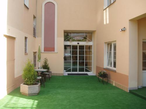 Patio nebo venkovní prostory v ubytování Europension