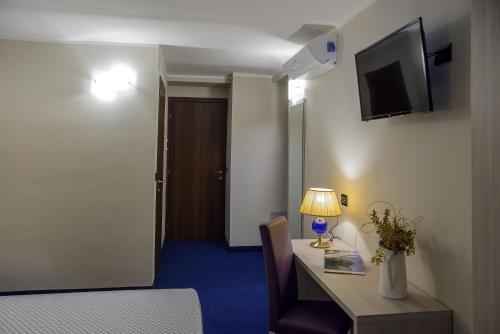 Een kamer bij Hotel Torino Porta Susa