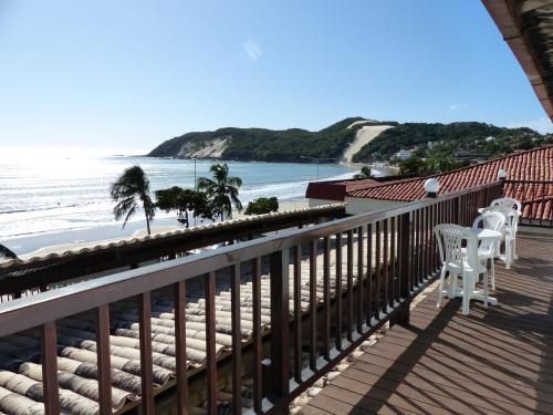 Uma varanda ou terraço em Hotel Pousada Azzurra