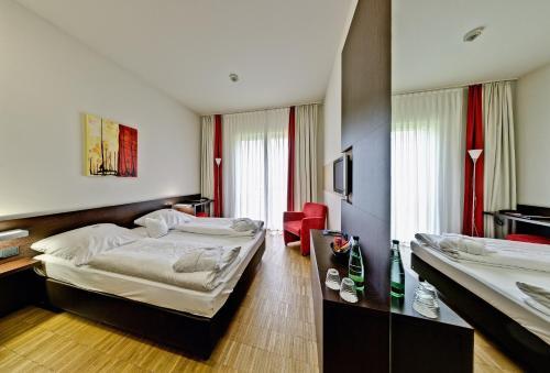 Ein Zimmer in der Unterkunft Santé Royale Hotel