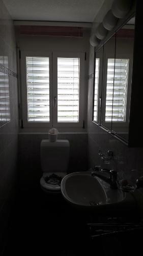 Ein Badezimmer in der Unterkunft Good Bed Pfaffnau