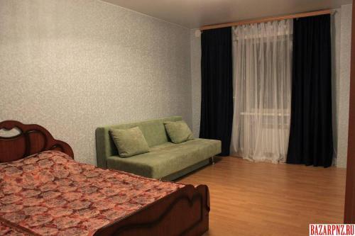 A seating area at Apartments at Fabrichnaya