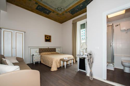 Ein Zimmer in der Unterkunft Hotel Genova Liberty