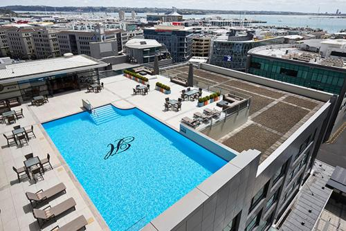 A view of the pool at Heritage Auckland, A Heritage Hotel or nearby