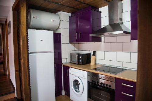 A kitchen or kitchenette at Apartamento Pozo Amargo