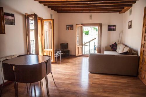 A seating area at Apartamento Pozo Amargo