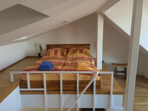 Ein Zimmer in der Unterkunft Business Apartments Sonne Mond Sterne