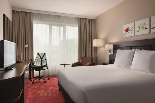 A room at Hilton Garden Inn Leiden
