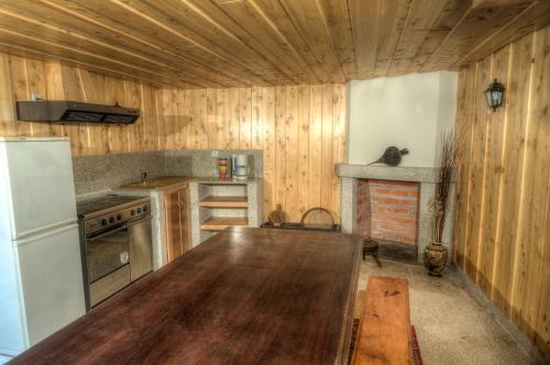 A cozinha ou kitchenette de Casa do Batalha