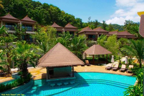 The swimming pool at or near Hula Hula Resort, Ao Nang