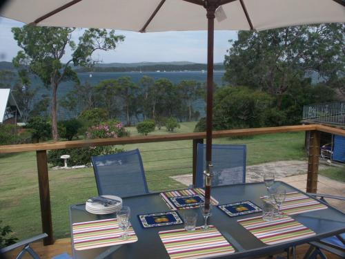 A restaurant or other place to eat at A Lakehouse Escape