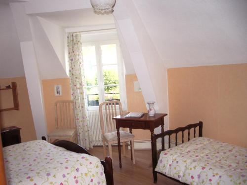 A room at Les Glycines