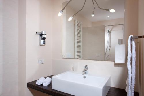Koupelna v ubytování Rosso Frizzante