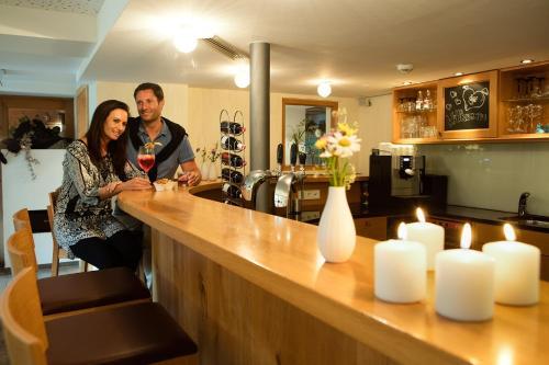 Lounge oder Bar in der Unterkunft Aparthotel Brunnenhof