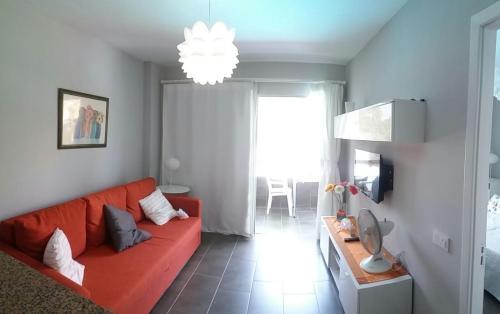 A seating area at Apartamentos Los Aguacates