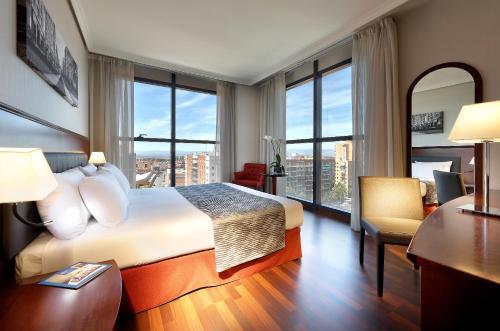 A room at Hotel Vía Castellana
