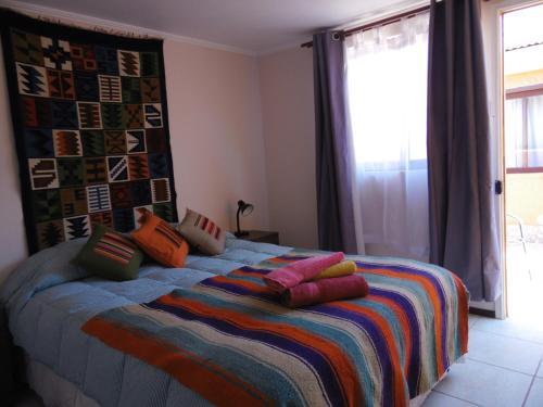Um quarto em Hostal Campo Base