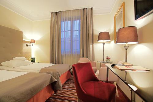 A room at Hotel Branicki