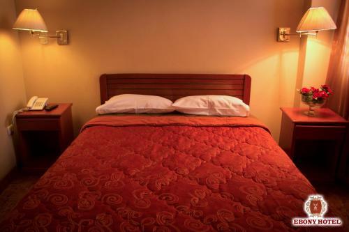 A room at Ebony Hotel