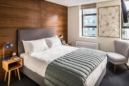 Una habitación en Park Hotel Lambton Quay