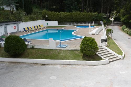 The swimming pool at or near INATEL Santa Maria Da Feira