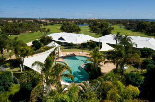 A bird's-eye view of Mercure Bunbury Sanctuary Golf Resort