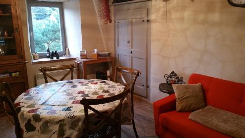 The lounge or bar area at Maison du pâtre